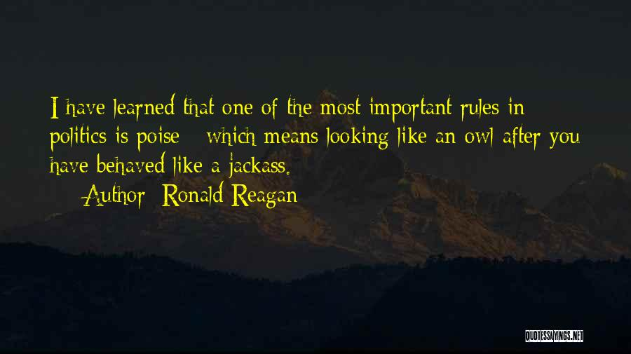 Why Rules Are Important Quotes By Ronald Reagan