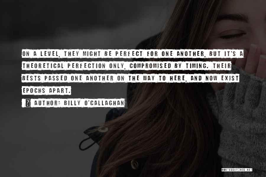 Why She Is Perfect Quotes By Billy O'Callaghan