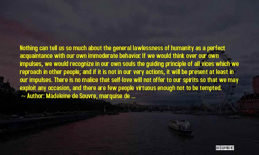 Why She Is Perfect Quotes By Madeleine De Souvre, Marquise De ...