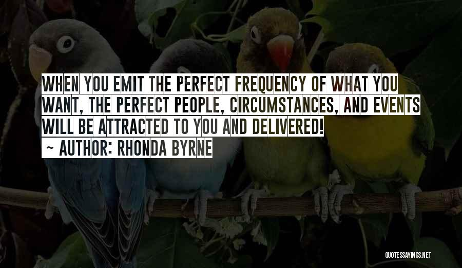 Why She Is Perfect Quotes By Rhonda Byrne