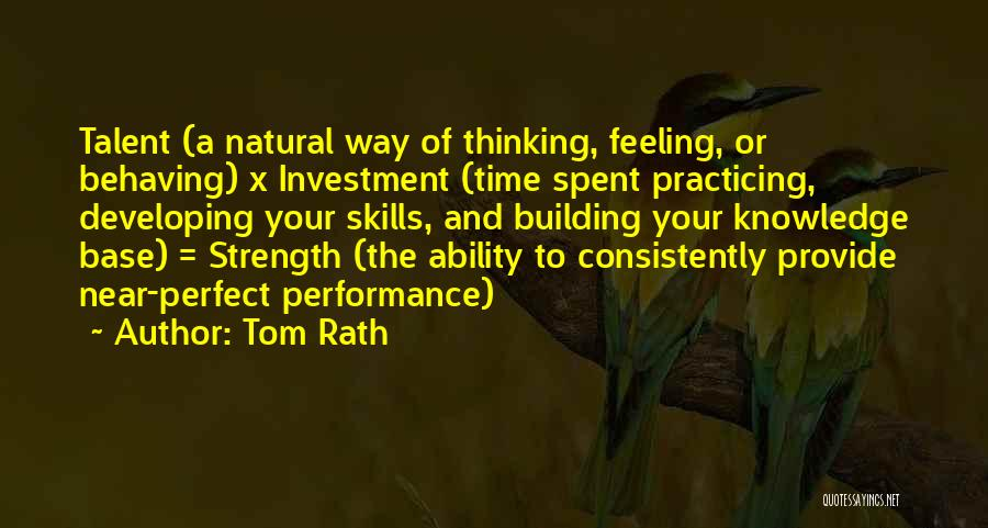 Why She Is Perfect Quotes By Tom Rath
