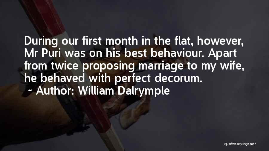 Why She Is Perfect Quotes By William Dalrymple