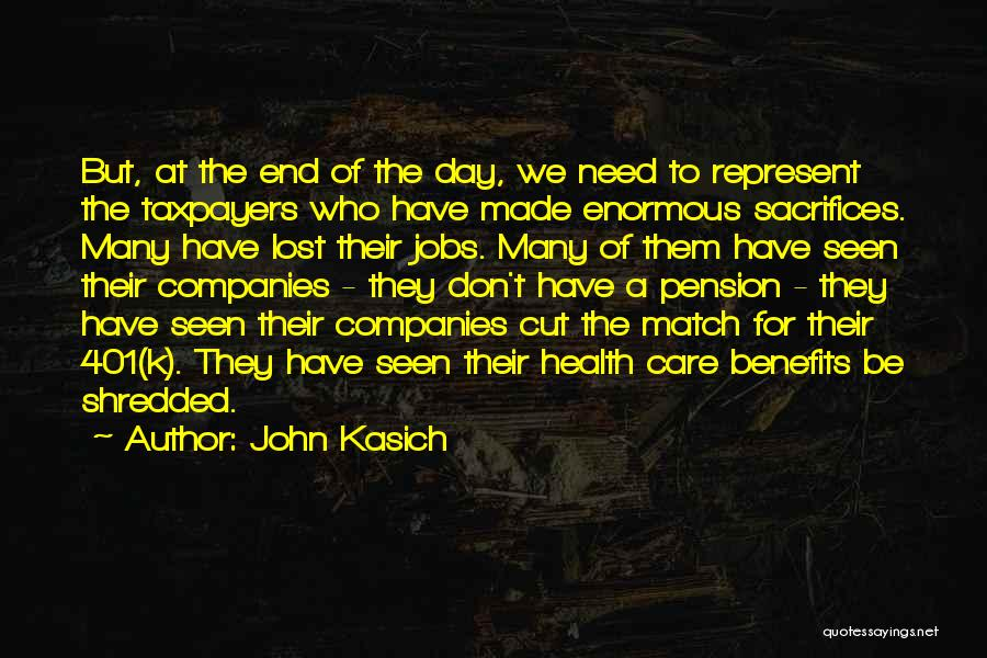 Why Should I Care If You Don't Quotes By John Kasich