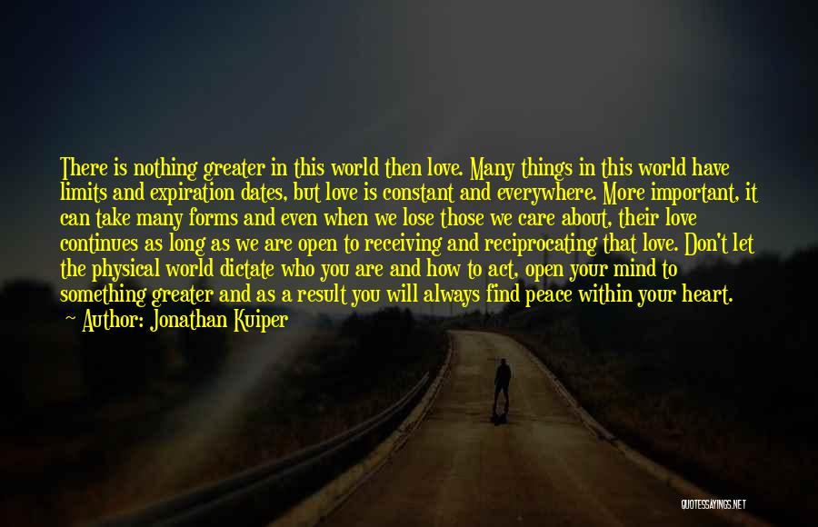 Why Should I Care If You Don't Quotes By Jonathan Kuiper