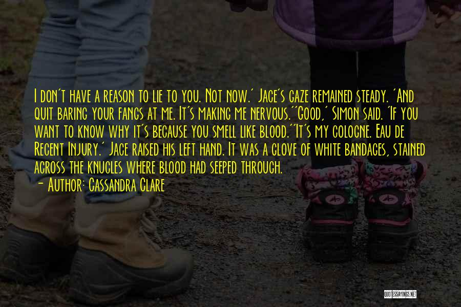 Why You Left Me Quotes By Cassandra Clare
