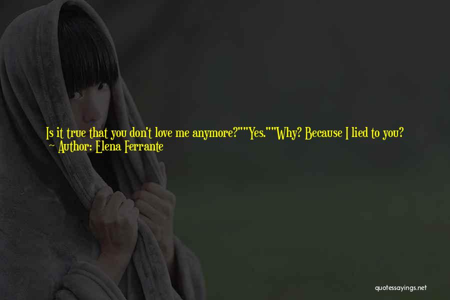 Why You Left Me Quotes By Elena Ferrante