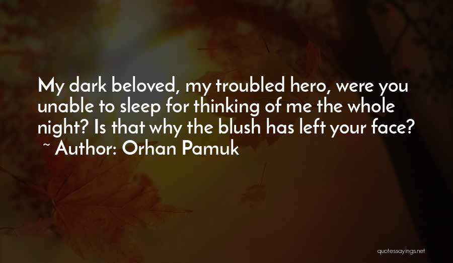 Why You Left Me Quotes By Orhan Pamuk