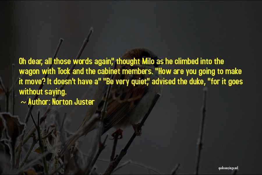 Why You Should Move On Quotes By Norton Juster