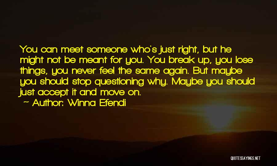 Why You Should Move On Quotes By Winna Efendi