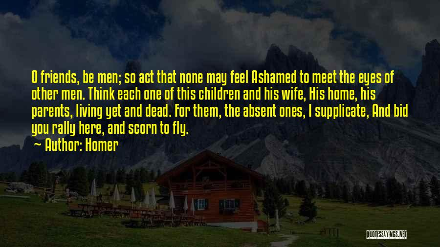 Wife And Friends Quotes By Homer