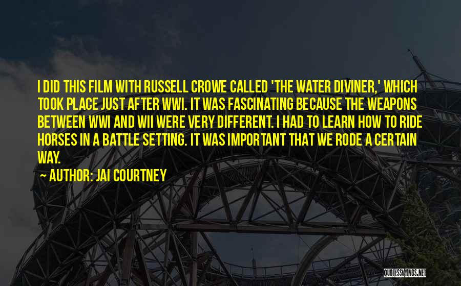 Wii Quotes By Jai Courtney