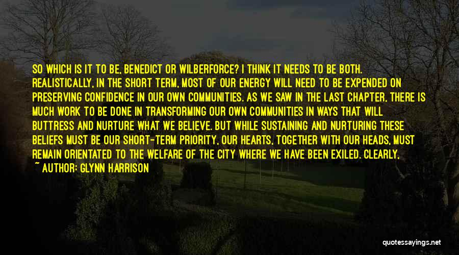 Wilberforce Quotes By Glynn Harrison