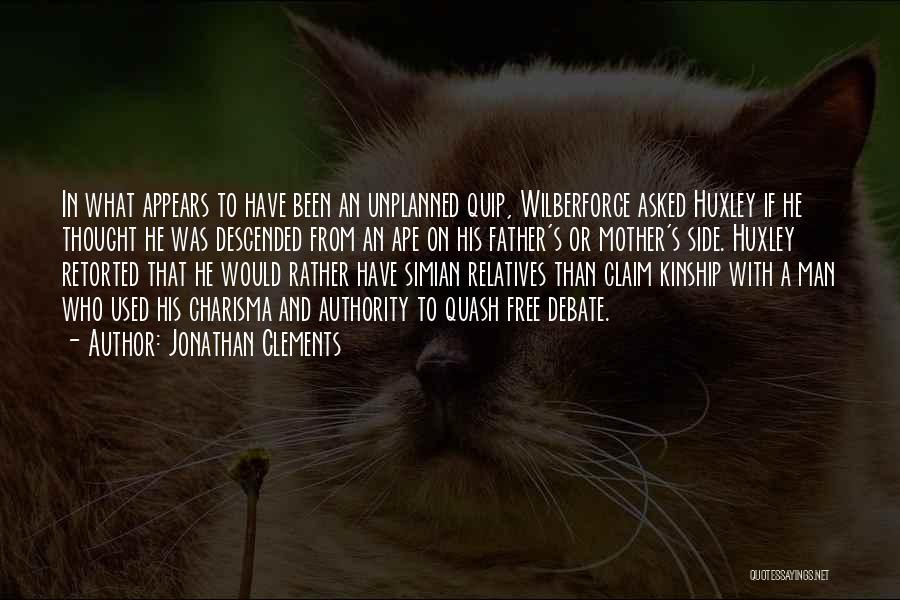 Wilberforce Quotes By Jonathan Clements
