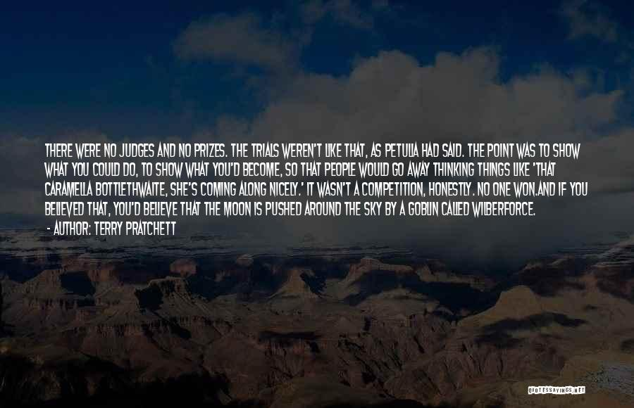 Wilberforce Quotes By Terry Pratchett