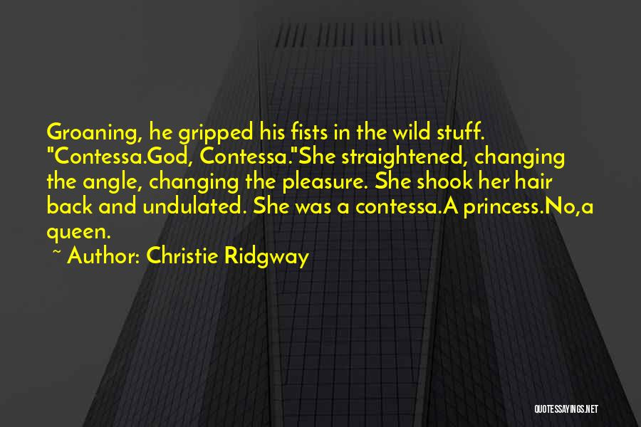 Wild Hair Quotes By Christie Ridgway