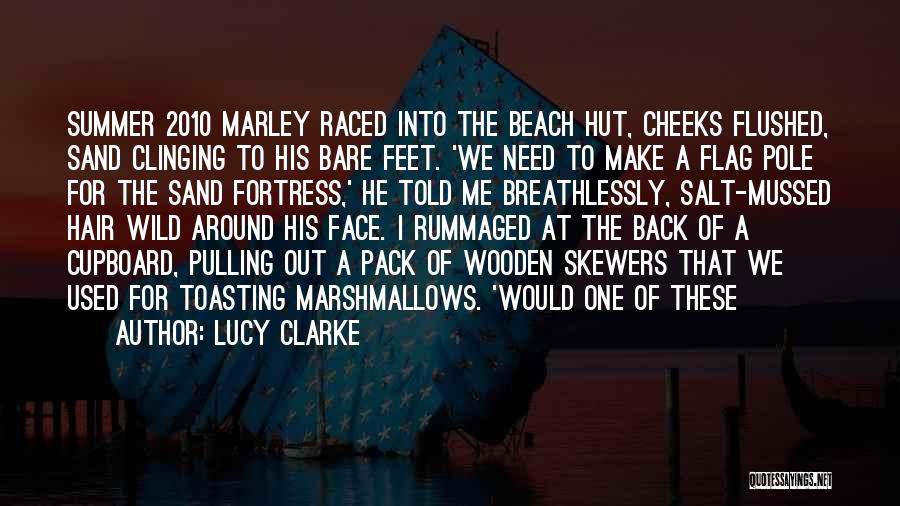 Wild Hair Quotes By Lucy Clarke