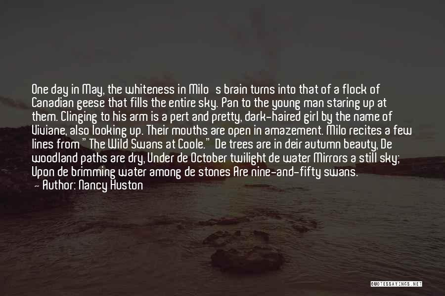 Wild Swans At Coole Quotes By Nancy Huston