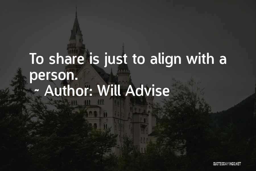 Will Advise Quotes 1063252