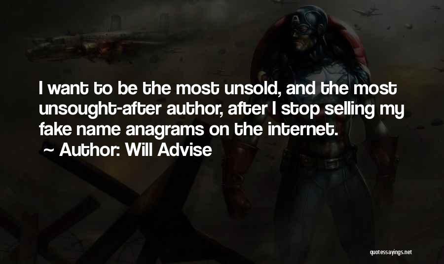 Will Advise Quotes 1315160