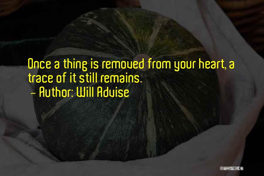 Will Advise Quotes 1541739