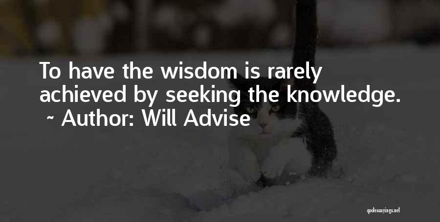 Will Advise Quotes 2001774