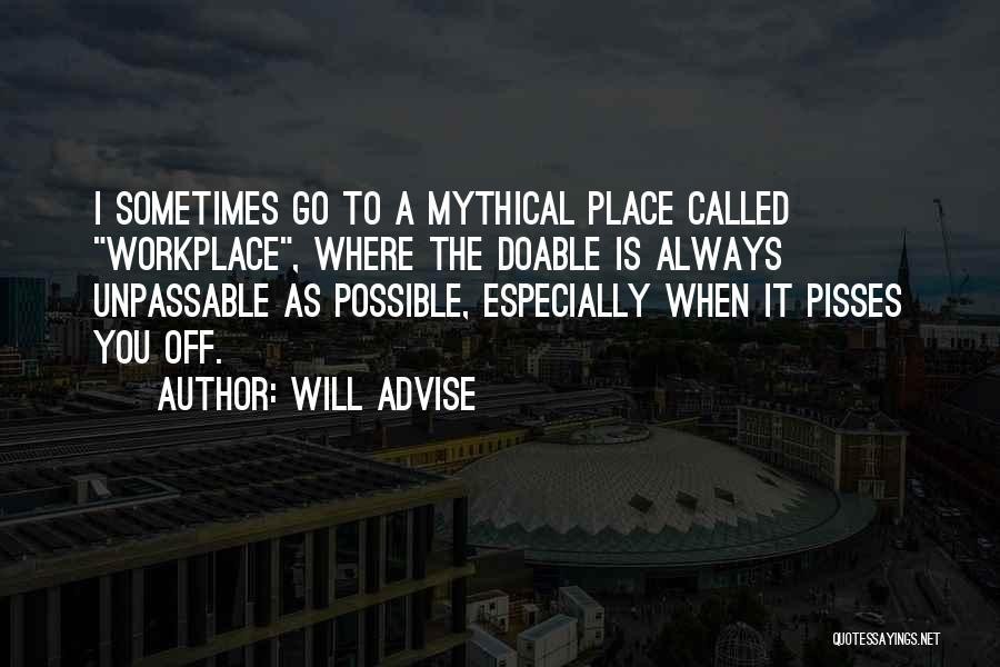 Will Advise Quotes 2141810