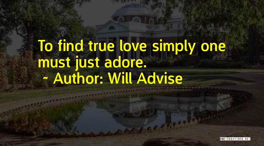 Will Advise Quotes 2236567