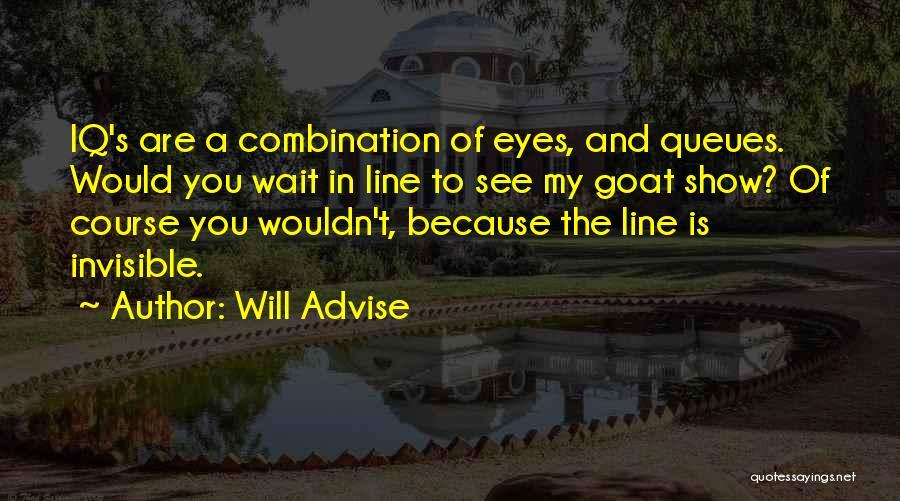 Will Advise Quotes 507367