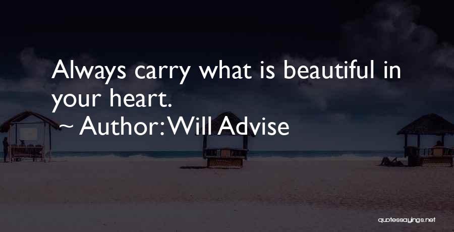 Will Advise Quotes 645776