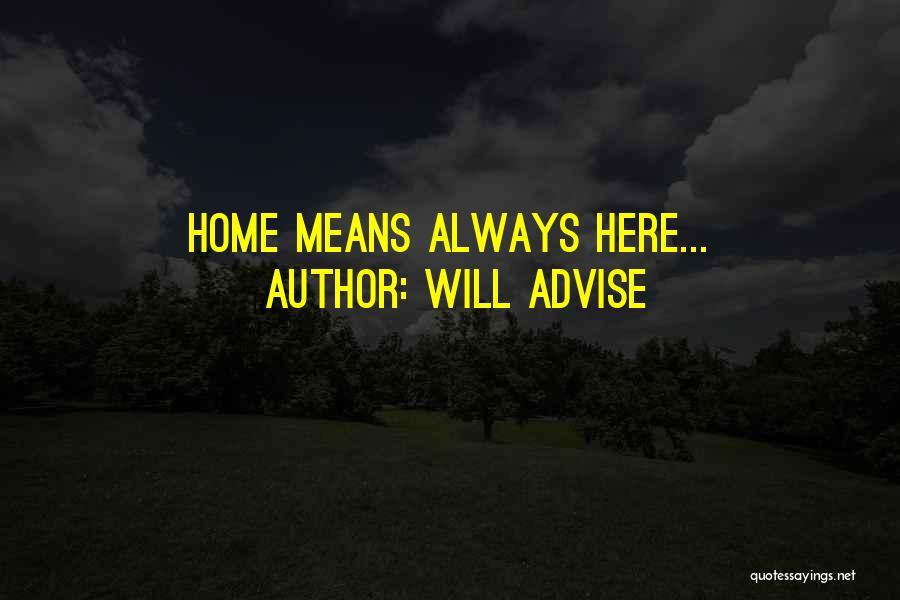 Will Advise Quotes 701551