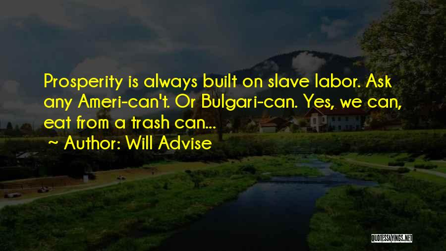 Will Advise Quotes 805079