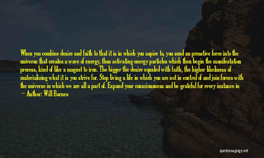 Will Barnes Quotes 1864602