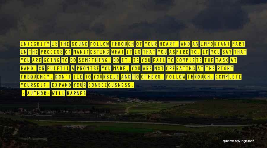 Will Barnes Quotes 2245054
