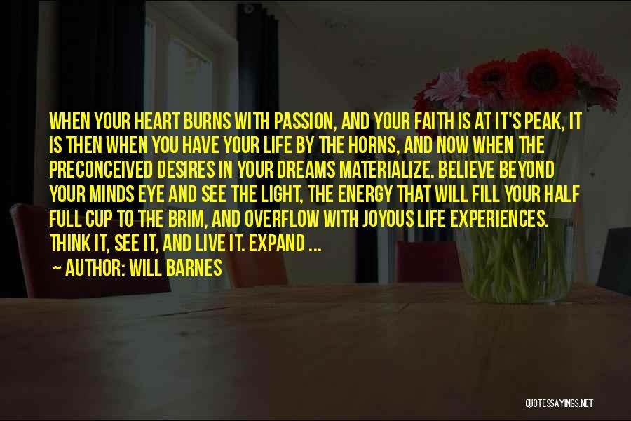 Will Barnes Quotes 629620