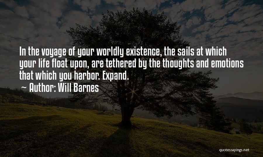 Will Barnes Quotes 827849