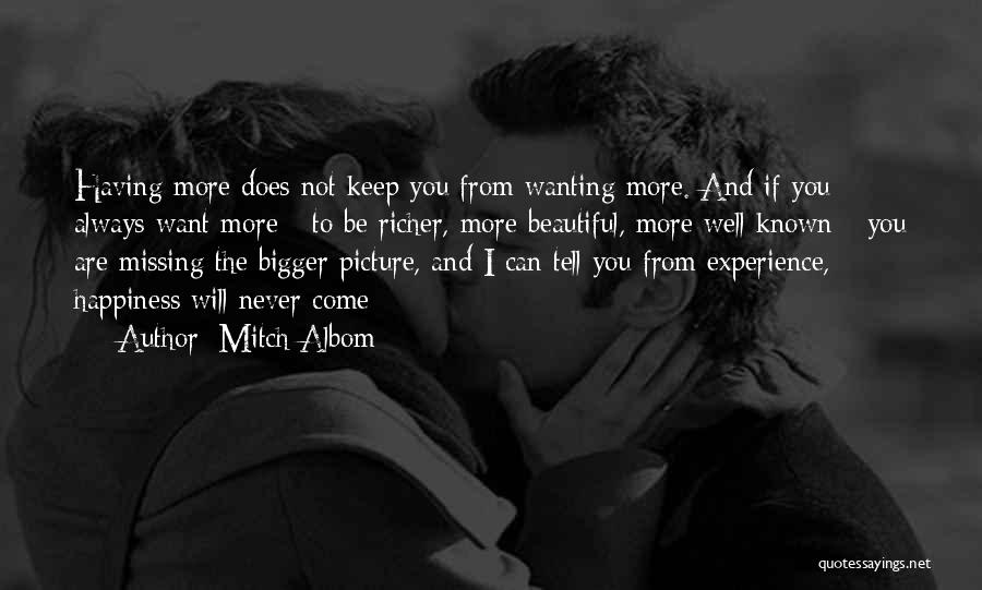 Will Be Missing You Quotes By Mitch Albom