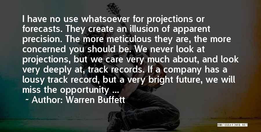 Will Be Missing You Quotes By Warren Buffett