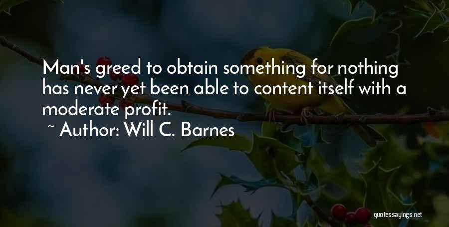 Will C. Barnes Quotes 133401