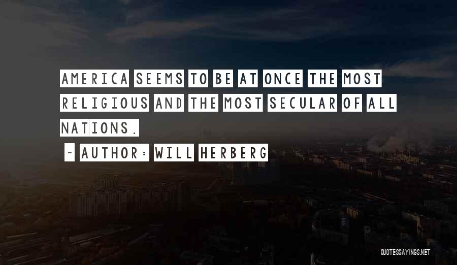 Will Herberg Quotes 1491477