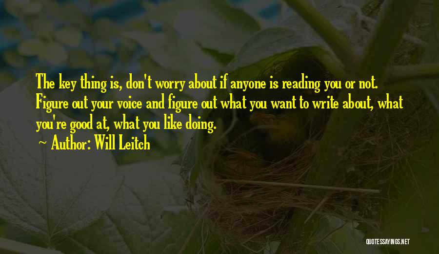 Will Leitch Quotes 2140892