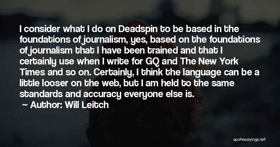Will Leitch Quotes 845689