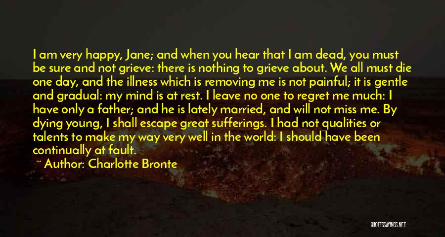 Will Miss You All Quotes By Charlotte Bronte