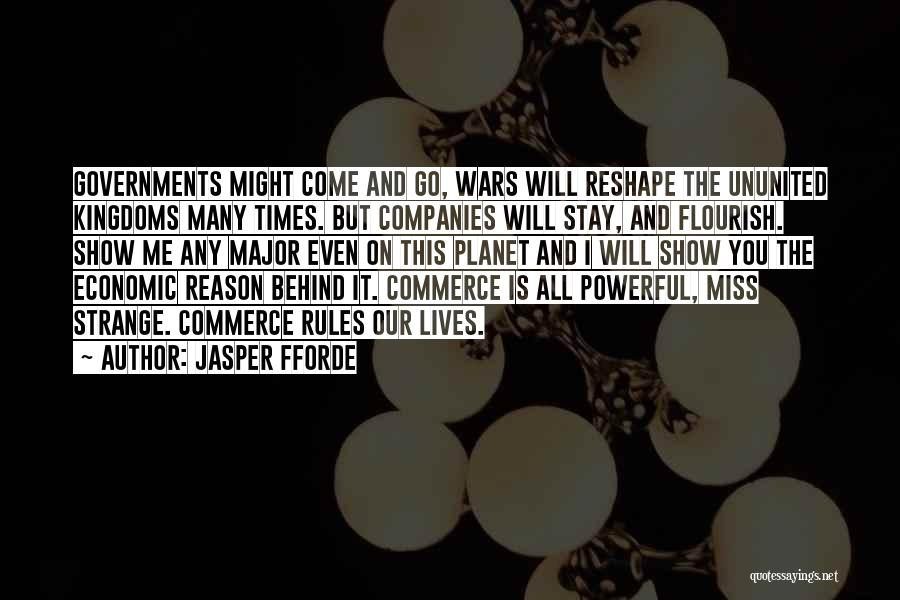 Will Miss You All Quotes By Jasper Fforde