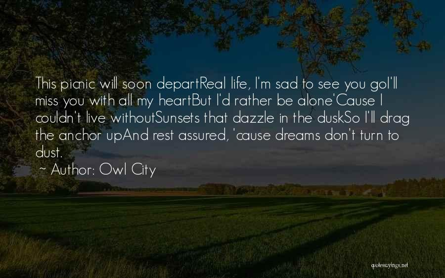 Will Miss You All Quotes By Owl City