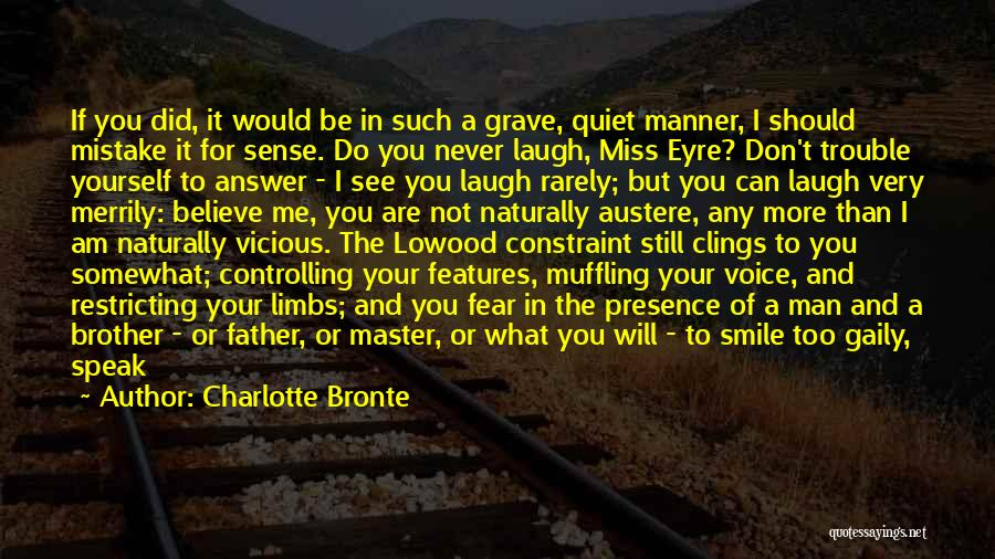 Will Miss You Brother Quotes By Charlotte Bronte