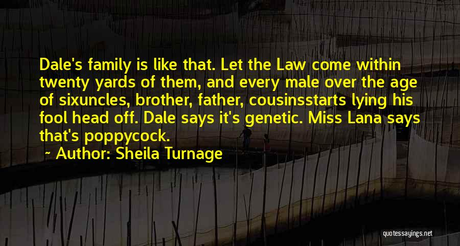 Will Miss You Brother Quotes By Sheila Turnage