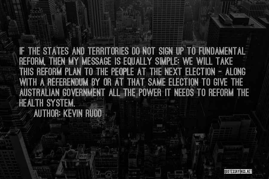 Will Not Give Up Quotes By Kevin Rudd