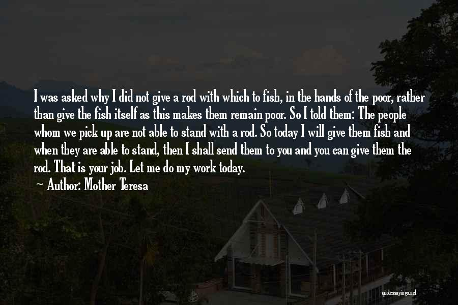 Will Not Give Up Quotes By Mother Teresa