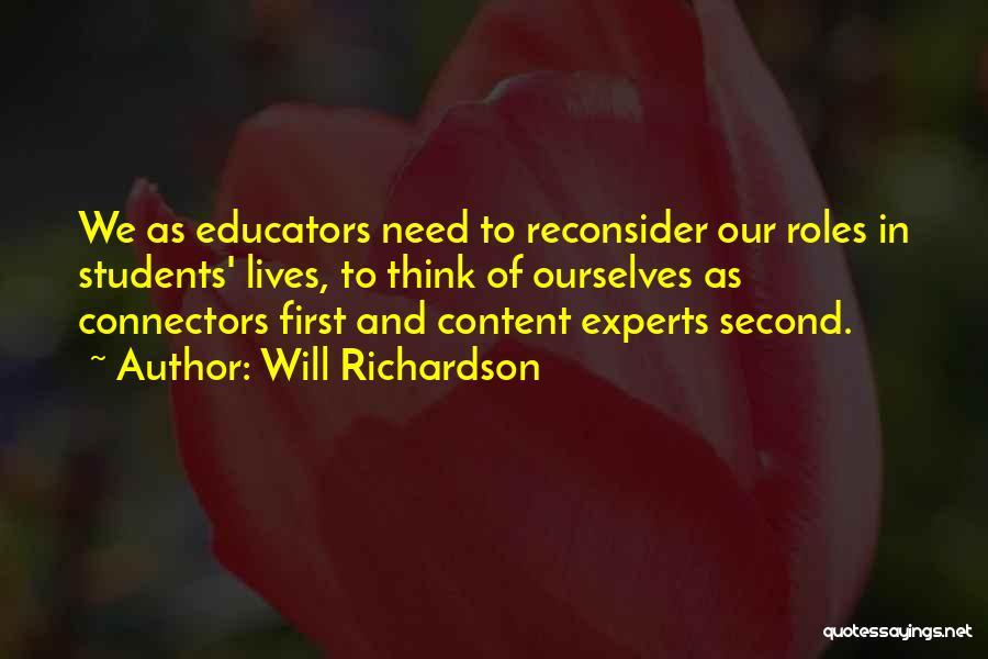 Will Richardson Quotes 1559647