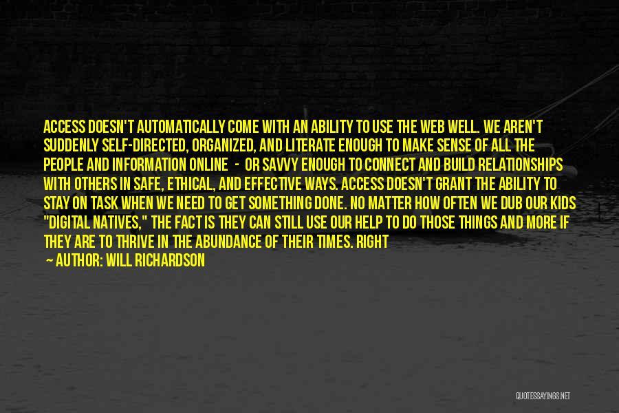 Will Richardson Quotes 1710313